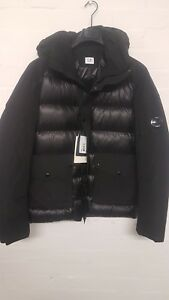 L Jacket Cargo Down Sale p Padded Size £595 Pocket C Company Black Rrp cwHw8TqvIY