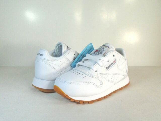 3224c76f010 Classic Leather Infants and Toddler White Gum V69626 Reebok SNEAKERS ...