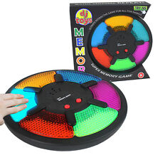 Memory Game Adult Kids Toy Interactive Electronic Follow LED Lights Sound Family