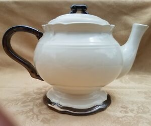 Versailles-by-Nanette-Vacher-for-Ambiance-Collection-Teapot-RARE-40oz-EUC