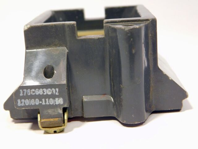 Cutler Hammer Coil 176C663G01 120V @ 60Hz 110V @ 50Hz NOS