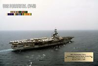 Large Uss Forrestal Cv-59 Personalized Print 13 X 19