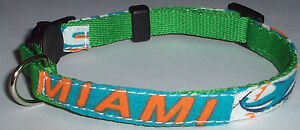 uk availability 777ae 637f8 Details about Miami Dolphins COLLAR Cat Dog Small Pet Pro Football Fan Team  Gear NFL Shop FL S
