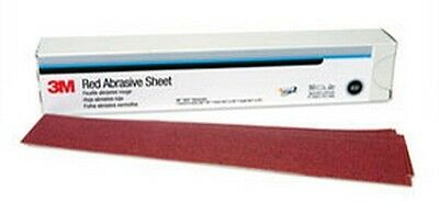 3m 1182 Red Abrasive Hookit™ Sheet, 2 3/4 In X 16 1/2 In, 40d, 25 Sheets Per Box