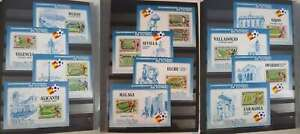 SOCCER / FOOTBALL WORLD CHAMPIONSHIP 1982  COLLECTION** PRIVATE SHEETS /dk619