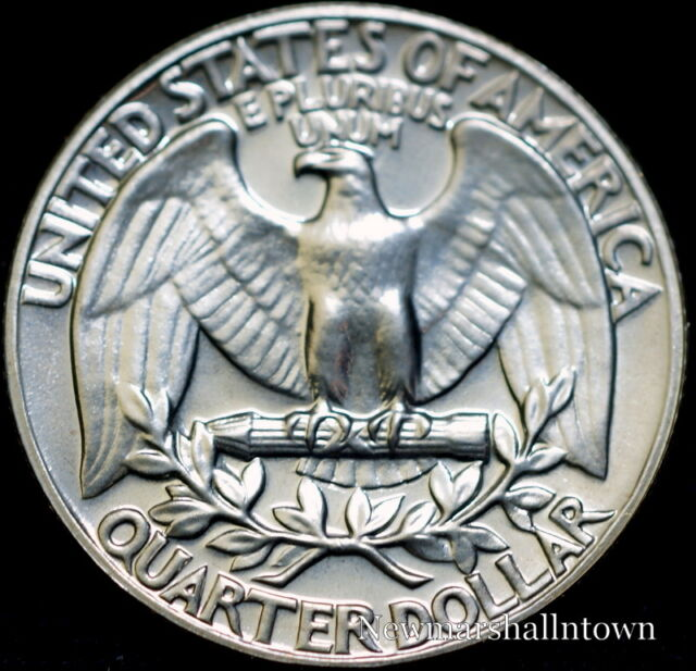 1970 P  Washington Brilliant Uncirculated Quarter ~ Choice Coin from Bank Roll