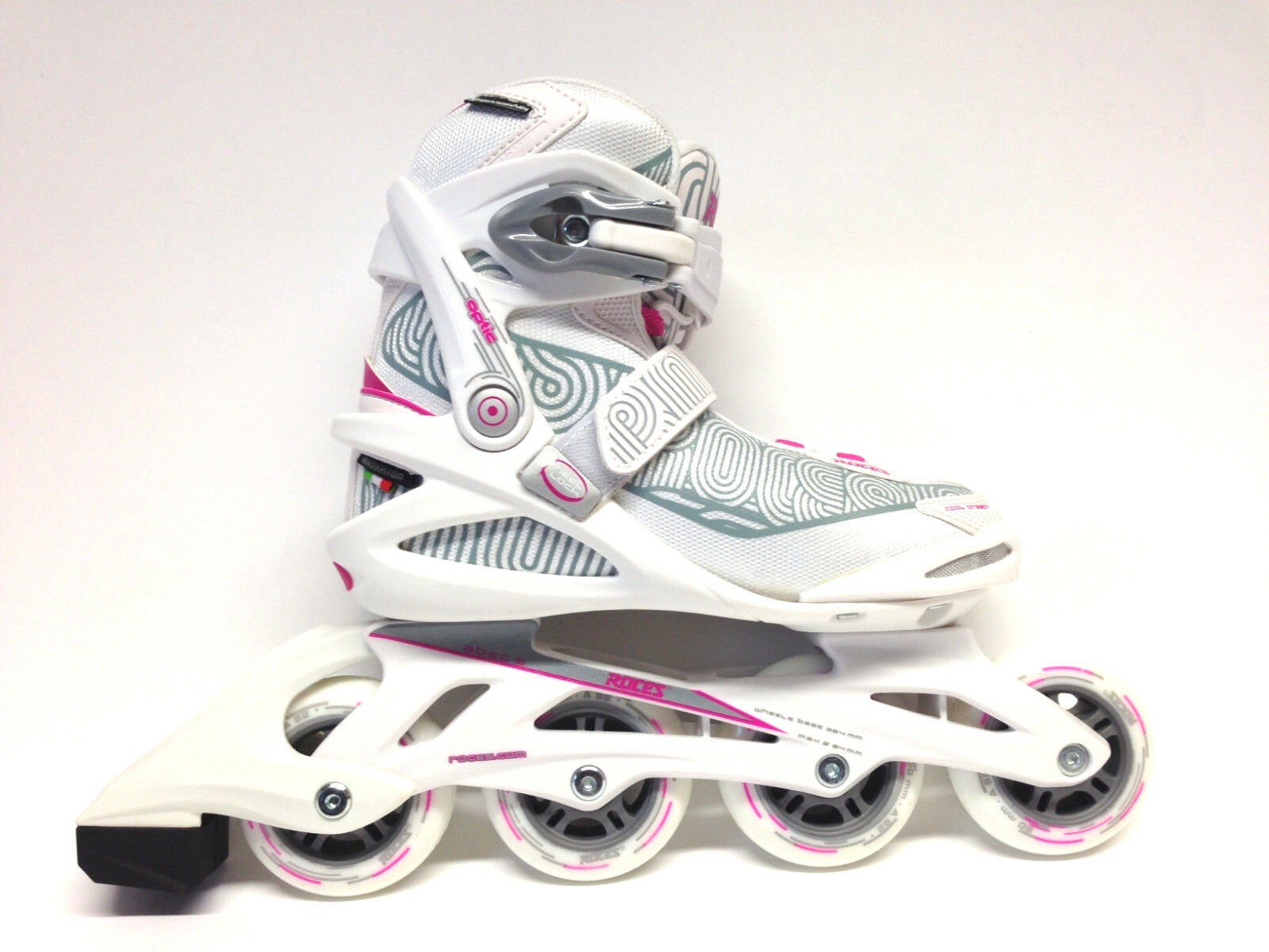 Roces Optic Weiß Rosa Fitness Inline Skates Gr. 36 -Sale- Inlineskate Damen