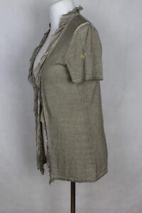 Public-Baumwolle-amp-Seide-Strickjacke-Damen-Gr-38-40-sehr-guter-Zustand