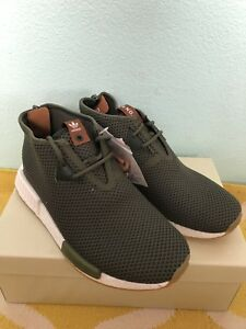 e3467ff6ed Details about NEW Adidas NMD C1 CHUKKA END SAHARA BB5993 US Size 10 Green  Olive