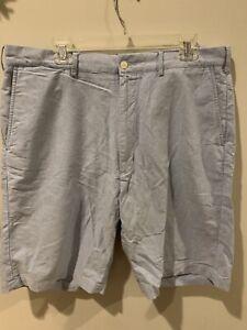 Polo-Ralph-Lauren-Preston-Fit-Mens-Size-38-Tall-L-Light-Blue-Shorts