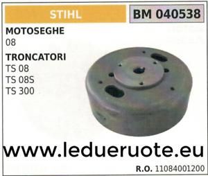 11084001200 VOLANO MAGNETICO magnete ventola VENTOLINA MOTOSEGA STIHL 08