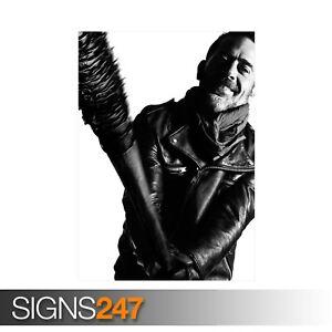 THE-WALKING-DEAD-NEGAN-ZZ023-MOVIE-POSTER-Poster-Print-Art-A0-A1-A2-A3