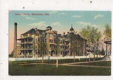 General Hospital Edmonton Vintage Postcard Canada 610a