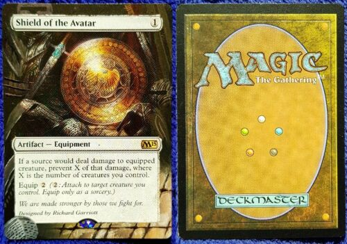 Hand Painted Custom Altered Magic the Gathering MTG Cards Artifact//Colorless PT4