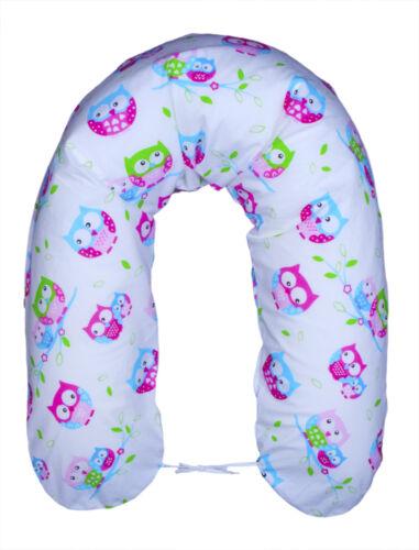 XXL Bezug für Stillkissen Baby Lagerungskissen Lang Seitenschläferkissen 170cm !