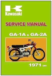 1973 kawasaki 90 wiring diagrams kawasaki manual ga1 ga 1a and ga2 ga 2a 90 ss 90ss 1971 1972 1973  ga2 ga 2a 90 ss 90ss 1971 1972 1973