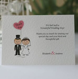 50-Personalised-Wedding-Thank-You-Cards-Bride-amp-Groom