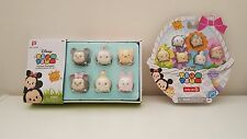 Disney Tsum Tsum Vinyl Pastel Parade Easter Medium Glitter and Exclusive 6-pack