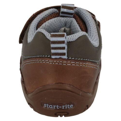 Infant Boys Brown//Blue Start Rite Shoes Wobble