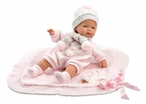 Llorens-38938Crying-Doll-with-Blanket-Joelle-38cm