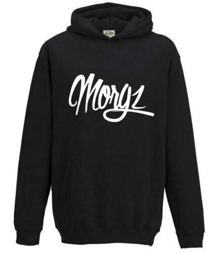 MORGZ YOUTUBERS ADULT HOODIE TOP MERCH YOU TUBE MORG