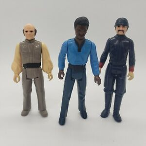 Vintage-Star-Wars-Bespin-Figure-Lot-Lando-Calrissian-Bespin-Guard-Lobot