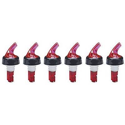 U(6-Pack) 1 oz(30ml ). SHOT LIQUOR BOTTLE MEASURED POURER