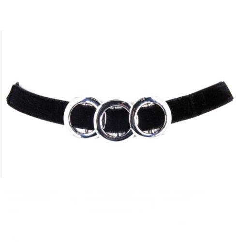 Halsband Dirnl Trachten Halskette Kropfband Burlesque Kette Band Satin Viktorian