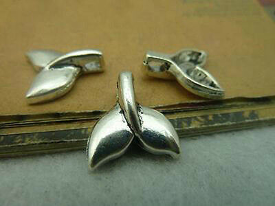 wholesale 20/50pcs lovely Retro style alloy charms whale's tail Pendants 16x15mm