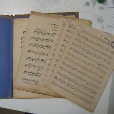 Orquesta partes Rienzi introduktion & Chor Der friedensboten Wagner