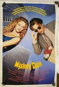 Vintage 90s Original Movie Poster Mystery Date 27x41 Rolled One Sheet