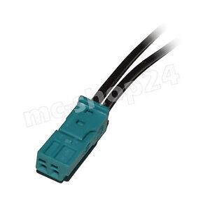 Stecker-2-polig-Reparatursatz-uncodiert-fuer-BMW-61132360043-61136925634-weiblich