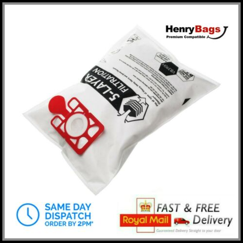 10 x Premium Dust Bags fit Numatic Henry Hetty James Hoover Vacuum Cleaner Bag