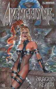 Avengelyne Dragon Realm 1/2 Hall Variant Liefeld Lyon Bad Girl Avatar HTF NM