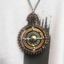GENUINE Alchemy Gothic Men's Steampunk Pendant - Orbium Coelestium Mechanicum