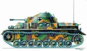 Planet-Models-1-72-WWII-German-Panzer-IV-w-Kugelblitz-Turret-Resin-Kit-MV023
