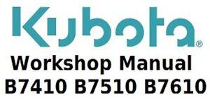 Kubota-Workshop-Manual-for-B7410-B7510-and-B7610-Tractors-on-CD