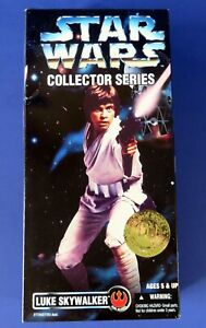 "1996 Kenner ~ STAR WARS COLLECTOR SERIES LUKE SKYWALKER 12"" ACTION FIGURE ~ NEW"