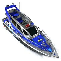 Police Speed Rc Boat Electric Full Function Quality Big Size Remote Control 4