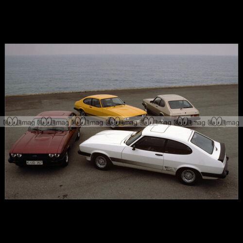 #pha.003270 Photo FORD CAPRI MK3 MODEL RANGE 1978 Car Auto