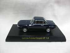 1//64 Kyosho LANCIA FULVIA COUPE HF 1.6 BLUE diecast car model
