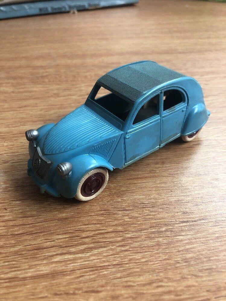 BS France Citroen 2CV Plastic Toy 1950's B.S. Scarce