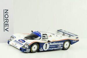 PORSCHE-962-C-1-WINNER-24h-Le-Mans-1986-Bell-stucco-Holbert-1-18-NOREV