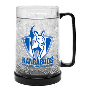 North-Melbourne-Kangaroos-AFL-Logo-Ezy-Freeze-Beer-Mug-Stein
