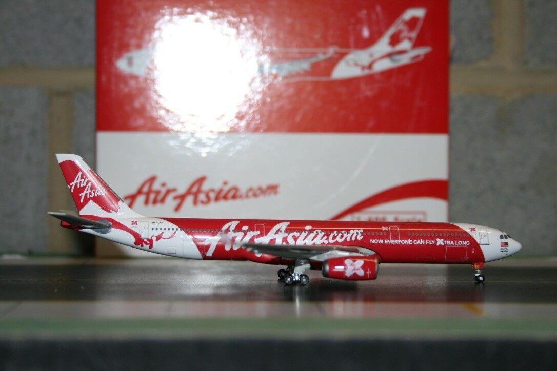 A la venta con descuento del 70%. Phoenix 2018 Air Asia Airbus A330-300 A330-300 A330-300 9M-XXA (PH10284) Fundición Modelo de Avión  liquidación hasta el 70%
