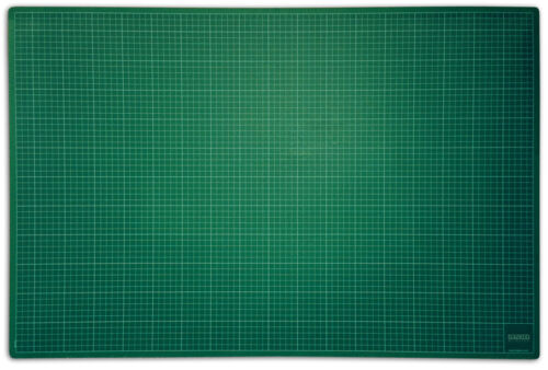 A0 CUTTING MAT PVC NON SLIP SELF HEALING PRINTED GRID HIGH QUALITY CRAFT DESIGN