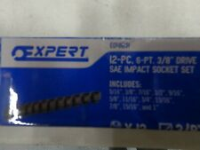 New Mac Tools Expert Sockets 12 Piece 6 Point 38 Sae