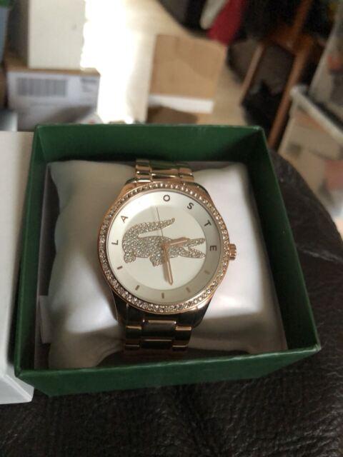 1953 Lacoste Ladies PVD Rose Gold Plated Quartz Watch Rose Gold Bracelet 2000828