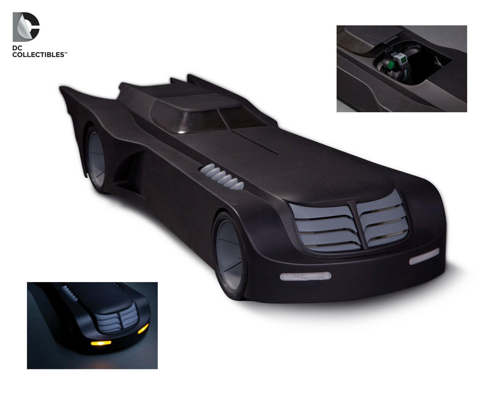 DC COLLECTIBLES: BATMAN ANIMATED SERIES BATMOBILE