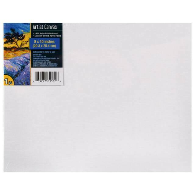 Winsor Newton Artists Quality Canvas Board 10 by 14